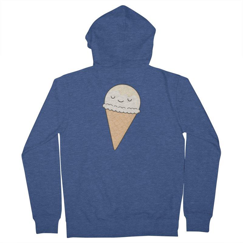 Ice Cream Women's Zip-Up Hoody by Kim Vervuurt