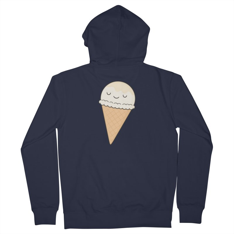 Ice Cream Women's French Terry Zip-Up Hoody by Kim Vervuurt