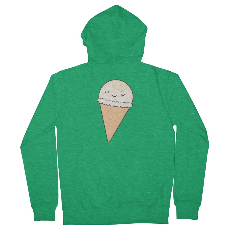 Ice Cream Men's Zip-Up Hoody by Kim Vervuurt