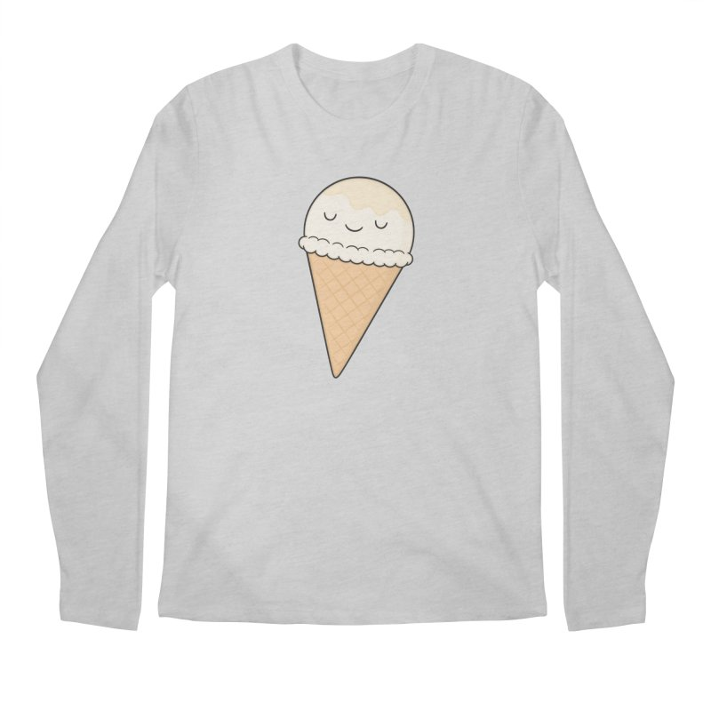 Ice Cream Men's Regular Longsleeve T-Shirt by Kim Vervuurt