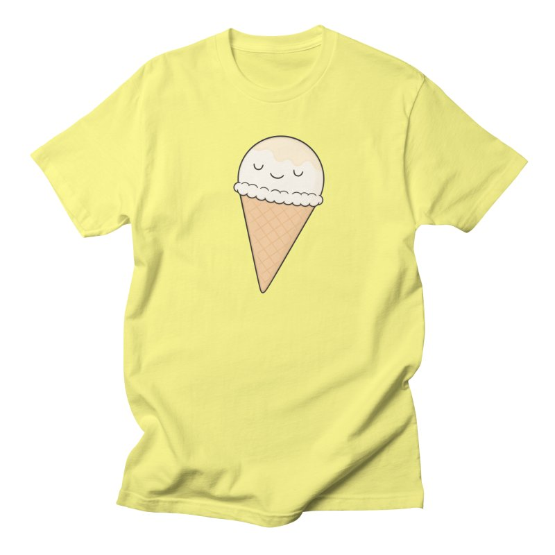 Ice Cream Men's T-Shirt by Kim Vervuurt