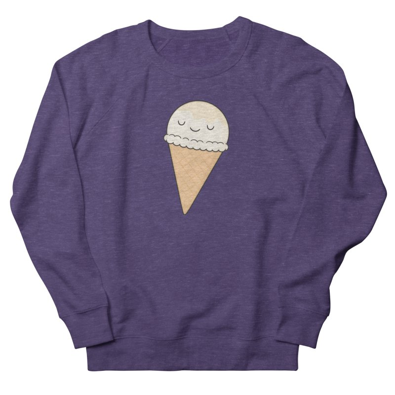 Ice Cream Women's French Terry Sweatshirt by Kim Vervuurt