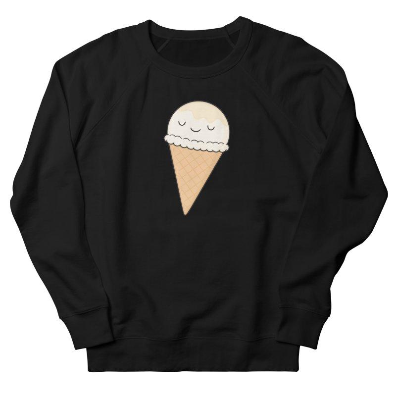 Ice Cream Women's French Terry Sweatshirt by Kim Vervuurt