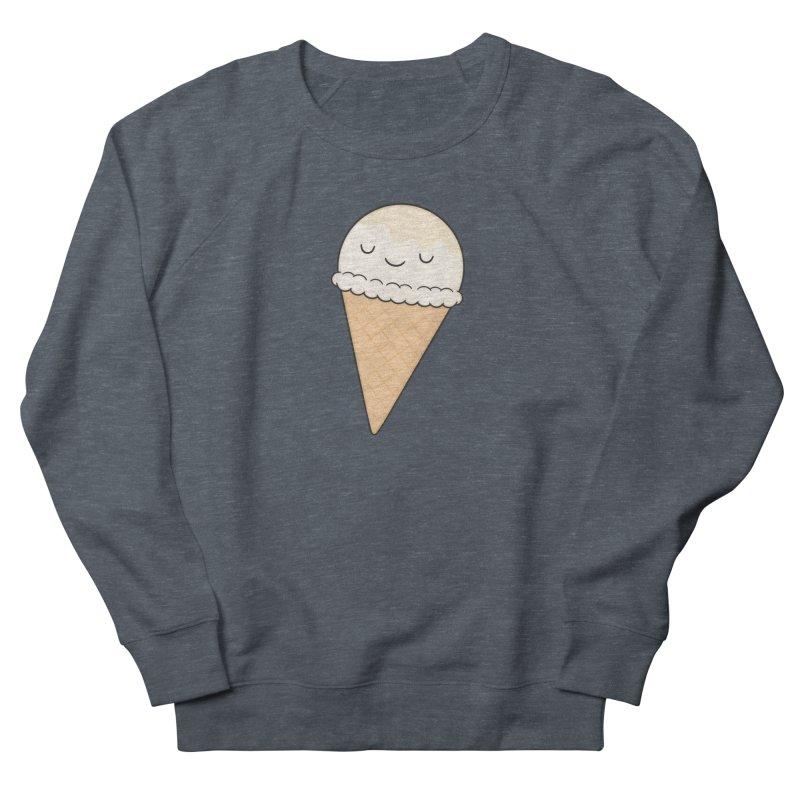 Ice Cream Men's French Terry Sweatshirt by Kim Vervuurt