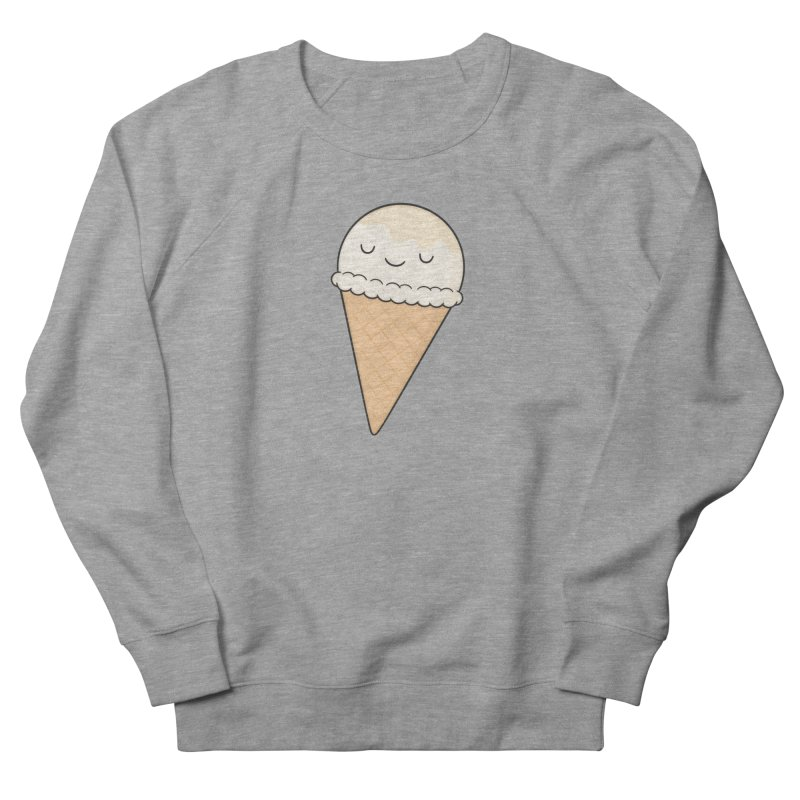 Ice Cream Men's French Terry Sweatshirt by Kim Vervuurt