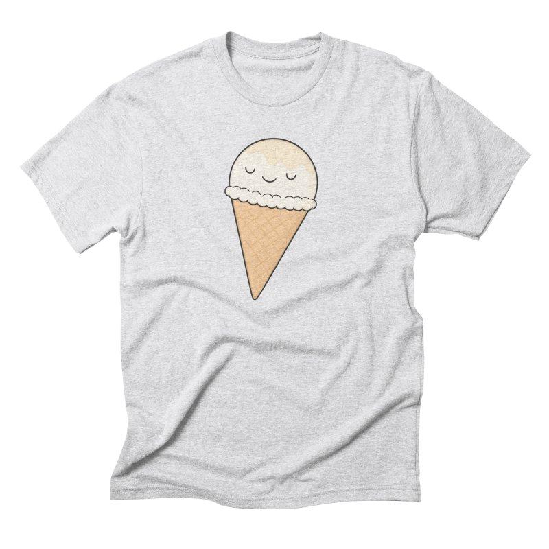 Ice Cream Men's Triblend T-Shirt by Kim Vervuurt
