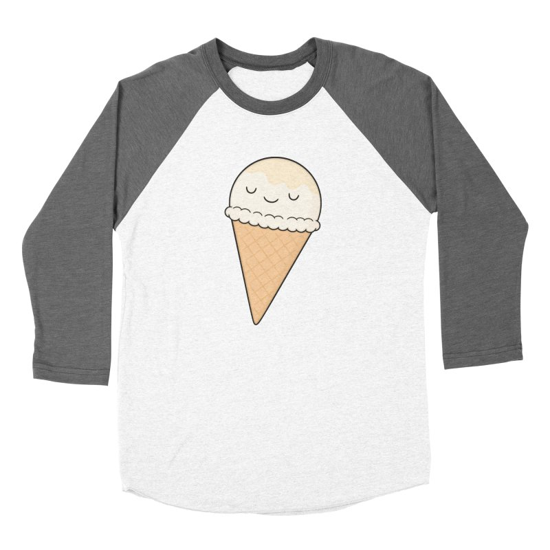 Ice Cream Women's Longsleeve T-Shirt by Kim Vervuurt