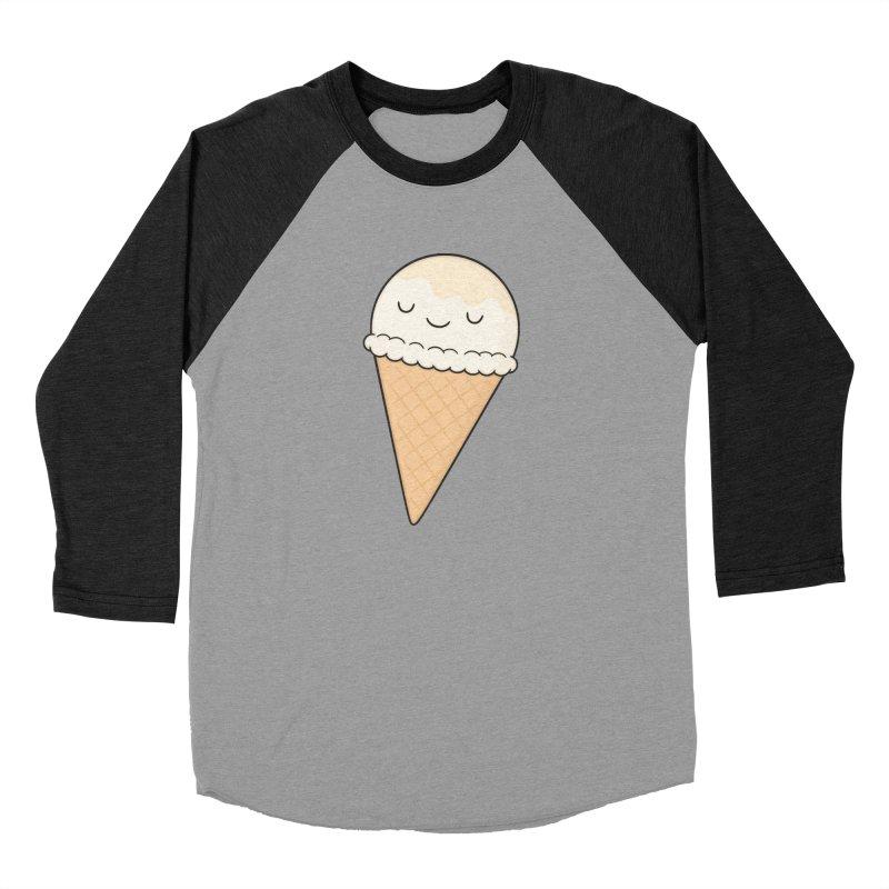 Ice Cream Women's Baseball Triblend T-Shirt by Kim Vervuurt