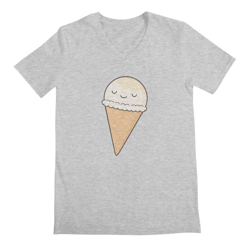 Ice Cream Men's V-Neck by Kim Vervuurt