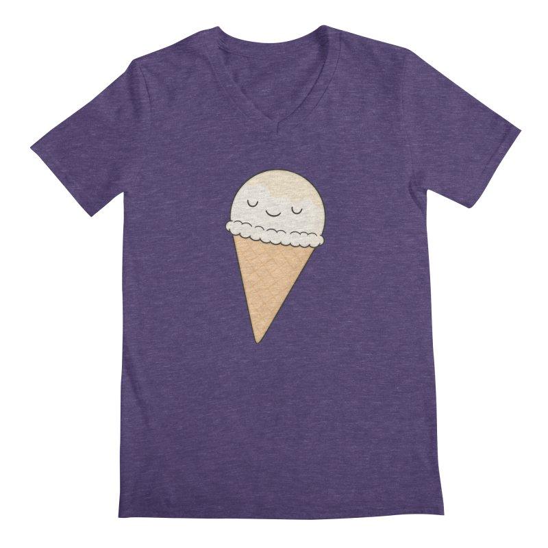 Ice Cream Men's Regular V-Neck by Kim Vervuurt