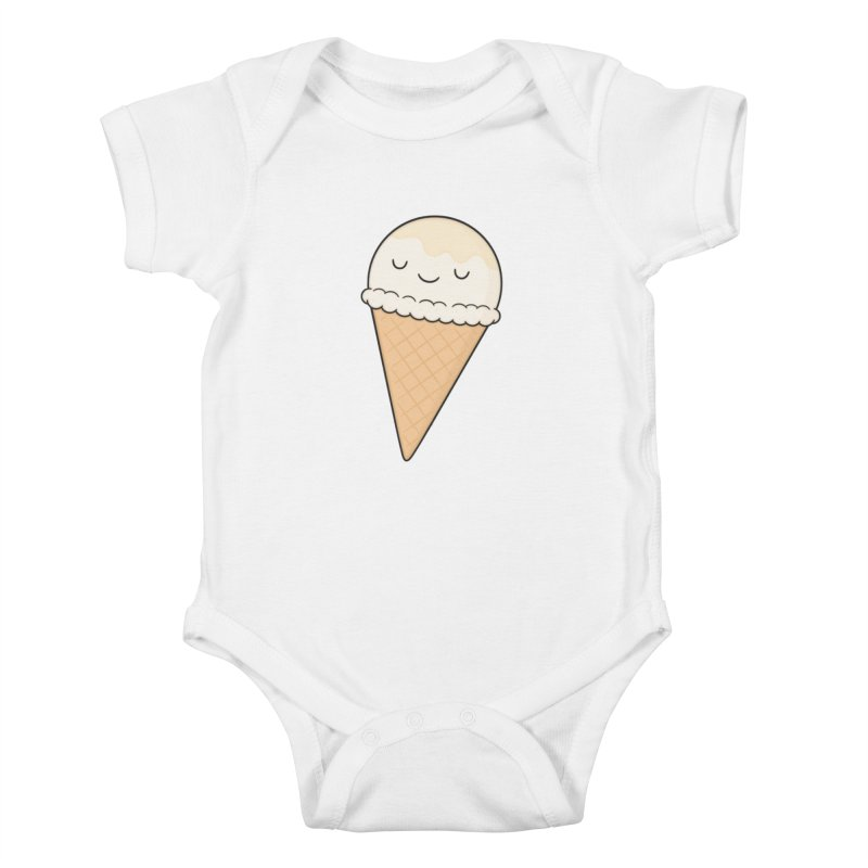 Ice Cream Kids Baby Bodysuit by Kim Vervuurt