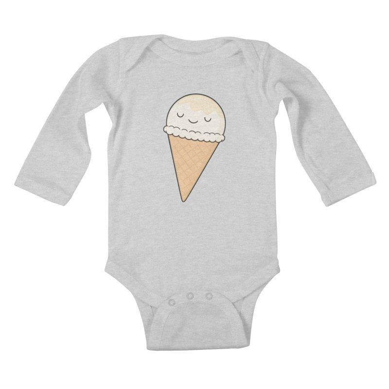 Ice Cream Kids Baby Longsleeve Bodysuit by Kim Vervuurt