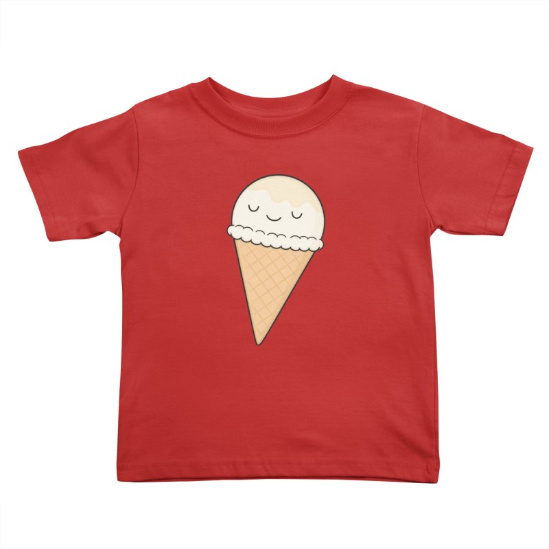 Ice Cream Kids Toddler T-Shirt by Kim Vervuurt