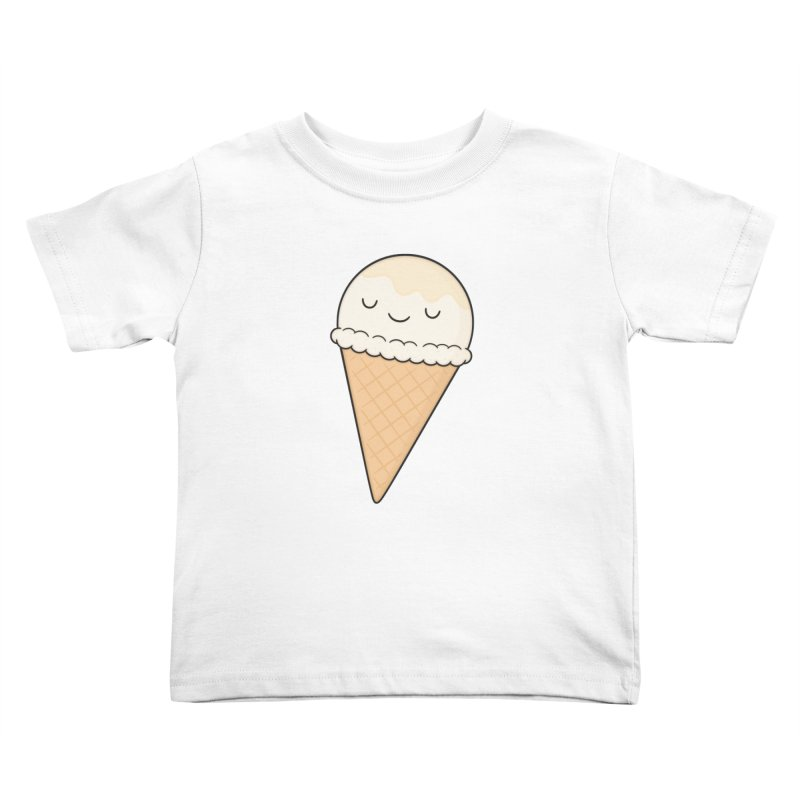Ice Cream Kids Toddler T-Shirt by Kim Vervuurt