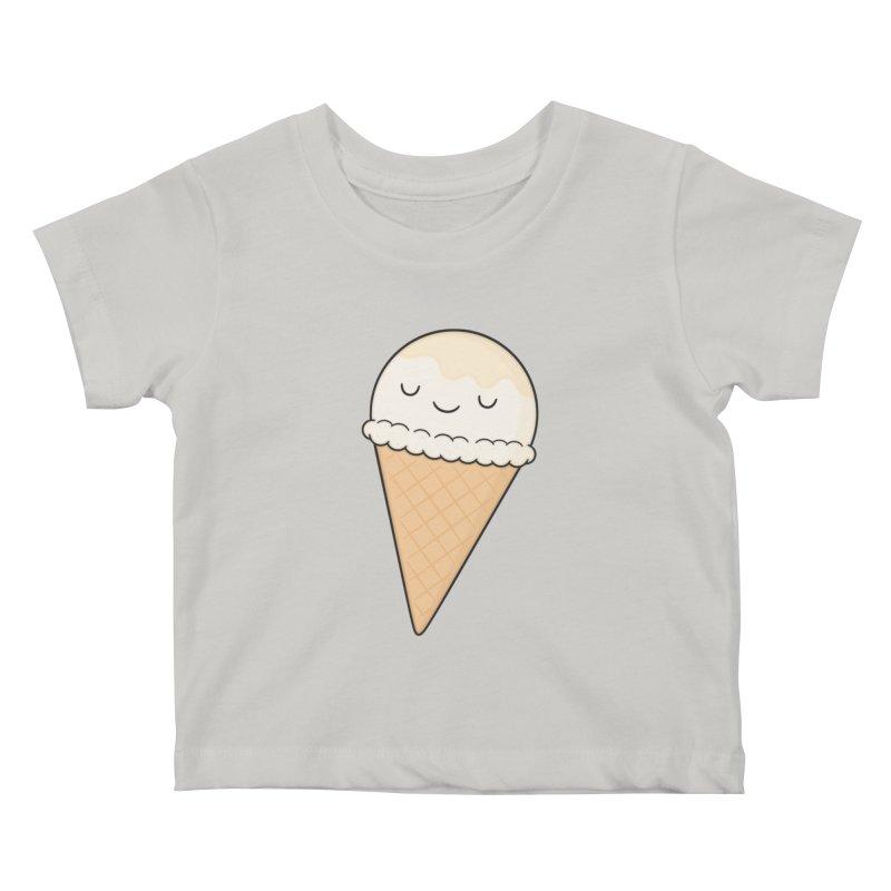 Ice Cream Kids Baby T-Shirt by Kim Vervuurt