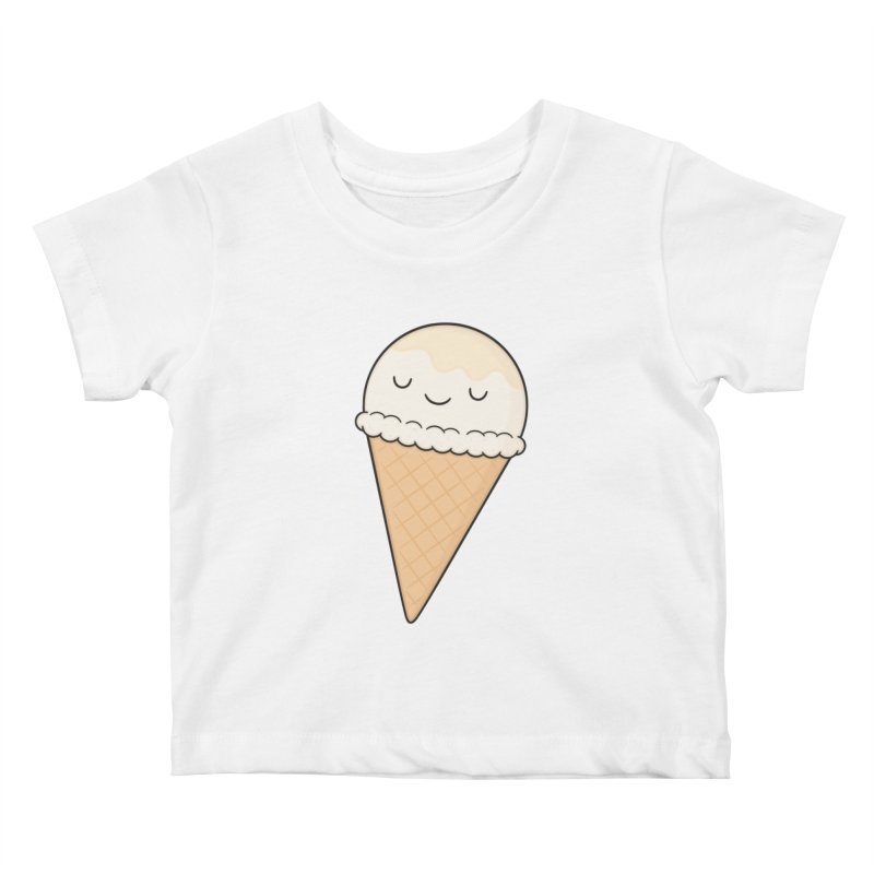 Ice Cream Kids Baby T-Shirt by Kim Vervuurt