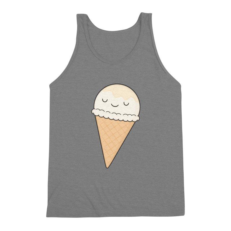 Ice Cream Men's Triblend Tank by Kim Vervuurt