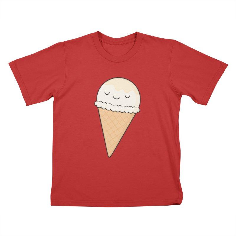 Ice Cream Kids T-Shirt by Kim Vervuurt