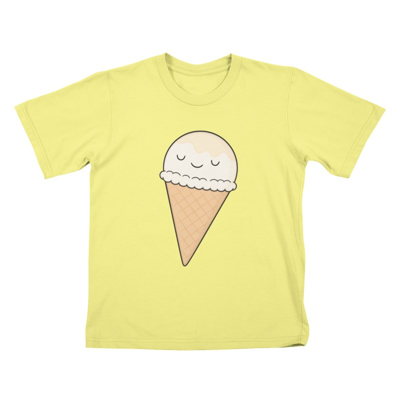 Ice Cream Kids T-shirt by Kim Vervuurt