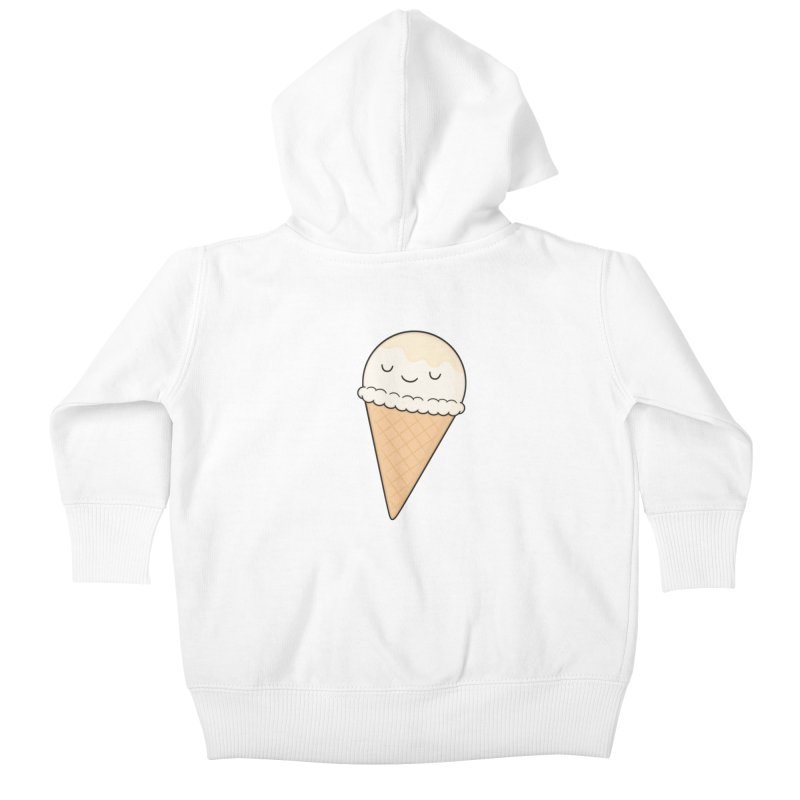 Ice Cream Kids Baby Zip-Up Hoody by Kim Vervuurt