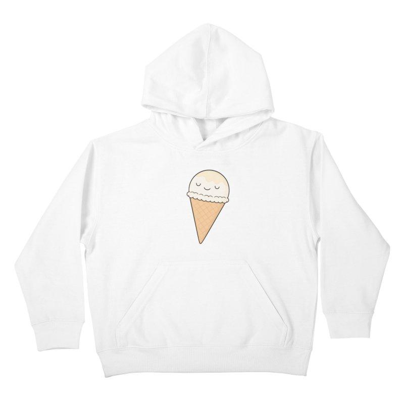 Ice Cream Kids Pullover Hoody by Kim Vervuurt