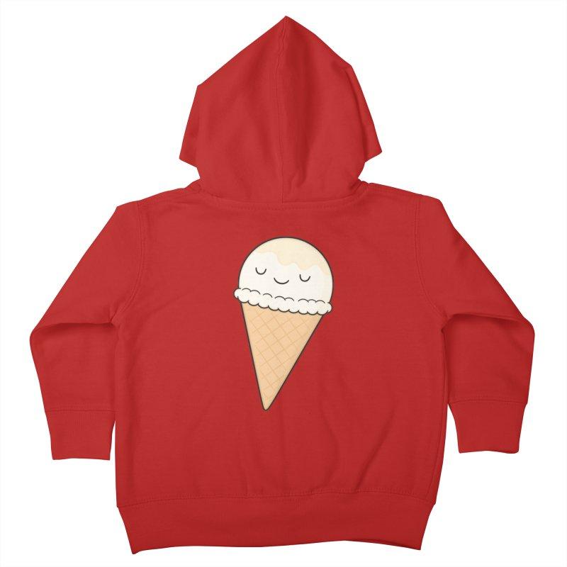 Ice Cream Kids Toddler Zip-Up Hoody by Kim Vervuurt