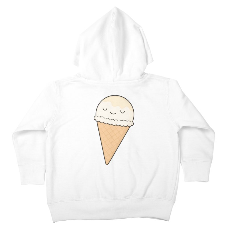 Ice Cream Kids Toddler Zip-Up Hoody by Kim Vervuurt