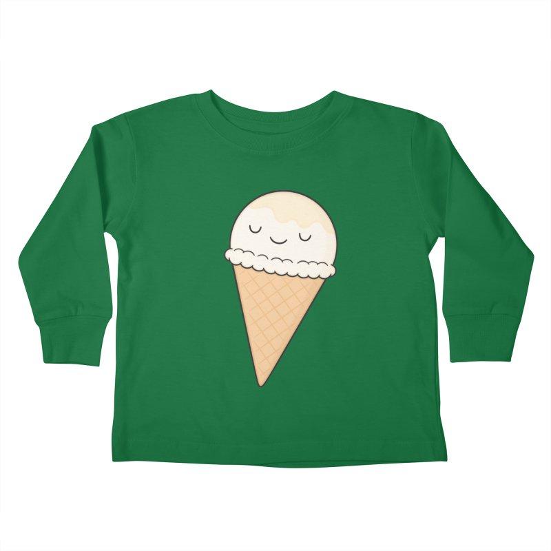 Ice Cream Kids Toddler Longsleeve T-Shirt by Kim Vervuurt