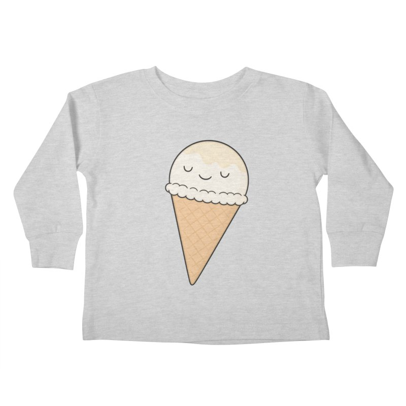 Ice Cream Kids Toddler Longsleeve T-Shirt by Kim Vervuurt