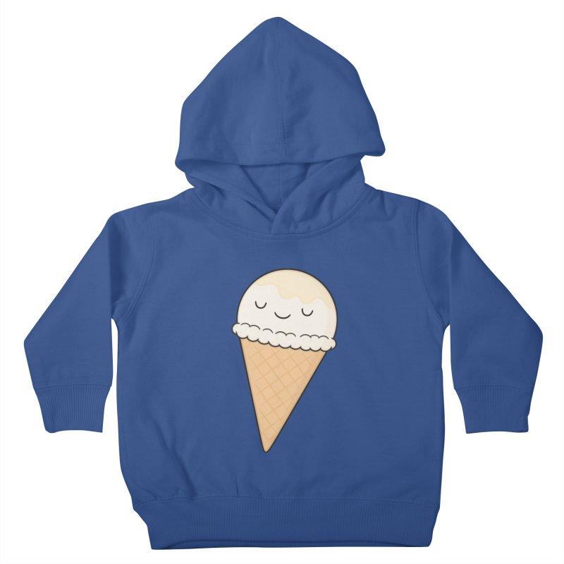 Ice Cream Kids Toddler Pullover Hoody by Kim Vervuurt