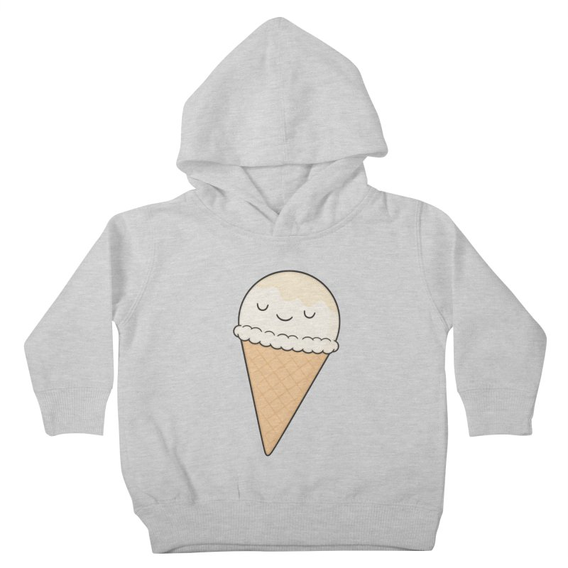 Ice Cream Kids Toddler Pullover Hoody by Kim Vervuurt