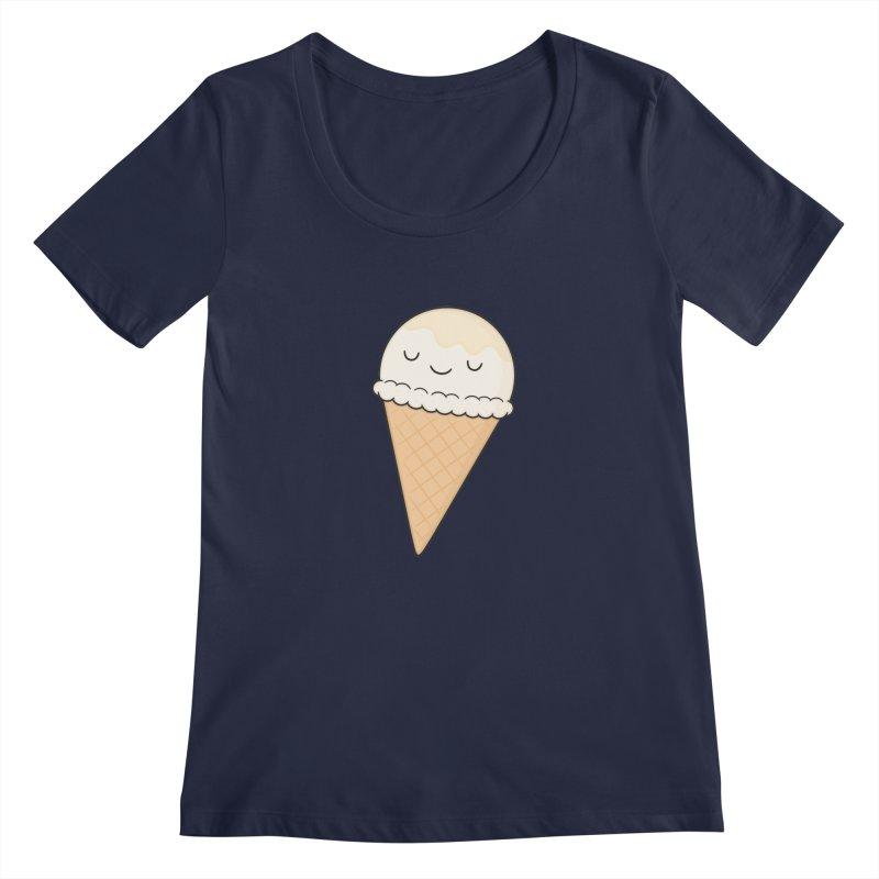 Ice Cream Women's Scoopneck by Kim Vervuurt