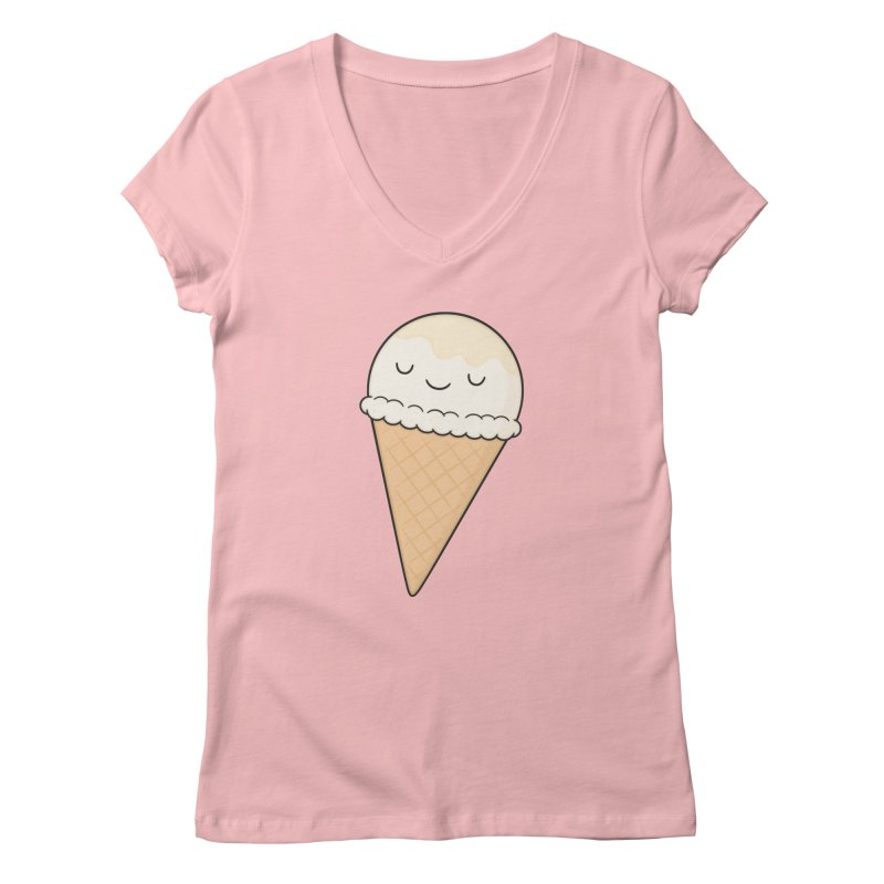 Ice Cream Women's V-Neck by Kim Vervuurt