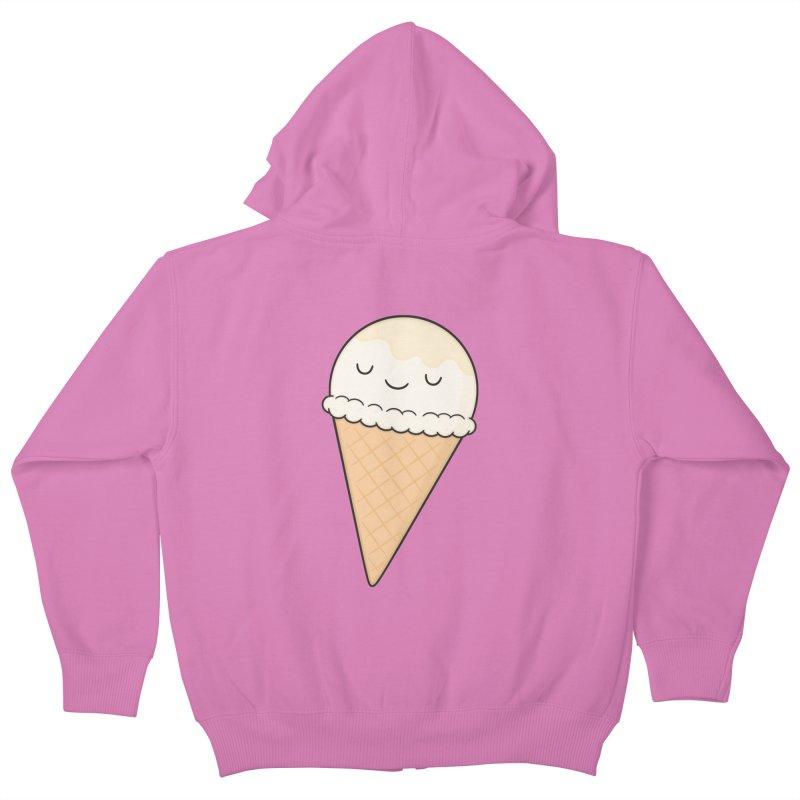 Ice Cream Kids Zip-Up Hoody by Kim Vervuurt