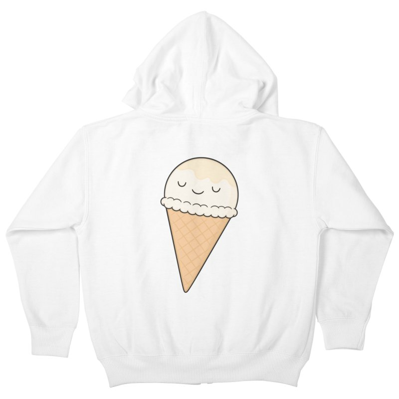 Ice Cream Kids Zip-Up Hoody by Kim Vervuurt