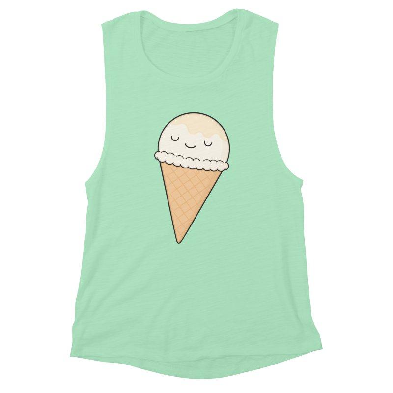 Ice Cream Women's Muscle Tank by Kim Vervuurt
