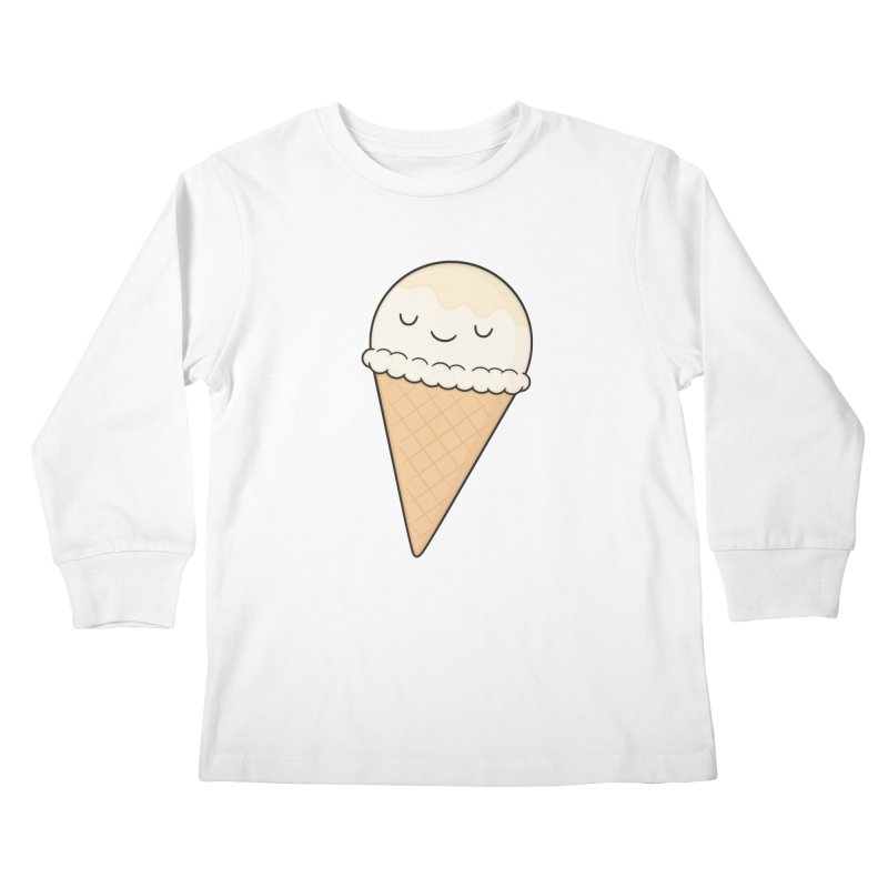 Ice Cream Kids Longsleeve T-Shirt by Kim Vervuurt