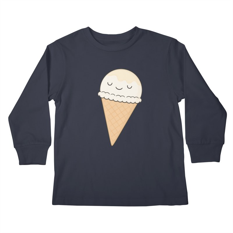 Ice Cream Kids Longsleeve T-Shirt by Kim Vervuurt
