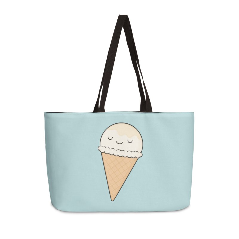 Ice Cream Accessories Weekender Bag Bag by Kim Vervuurt