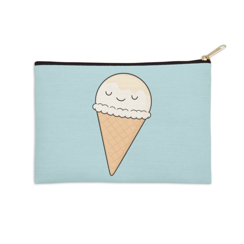 Ice Cream Accessories Zip Pouch by Kim Vervuurt