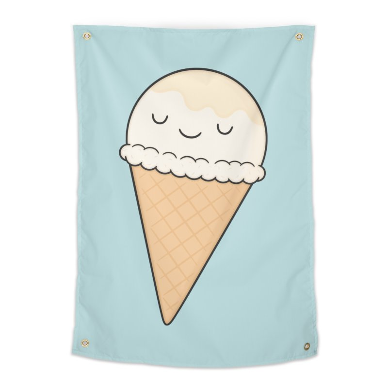 Ice Cream Home Tapestry by Kim Vervuurt