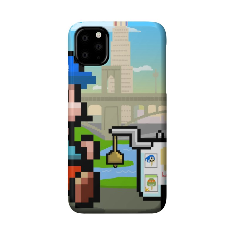 Super Mario Paletero Serves in Up in Los Angeles - Red Overalls Accessories Phone Case by Kindalikesorta - Art Prints, Custom T-Shirts + Mor