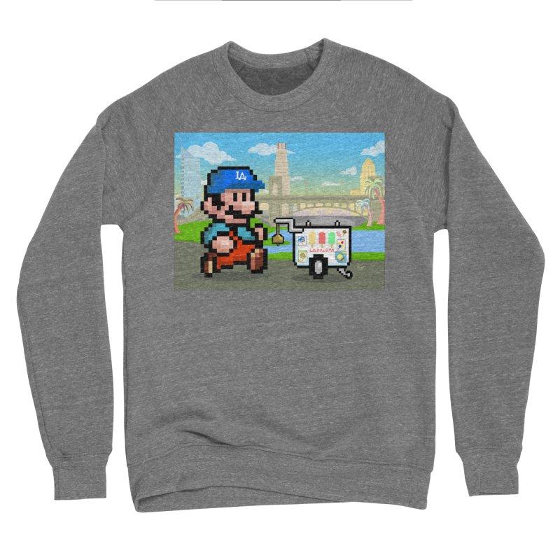 Super Mario Paletero Serves in Up in Los Angeles - Red Overalls Women's Sponge Fleece Sweatshirt by Kindalikesorta - Art Prints, Custom T-Shirts + Mor