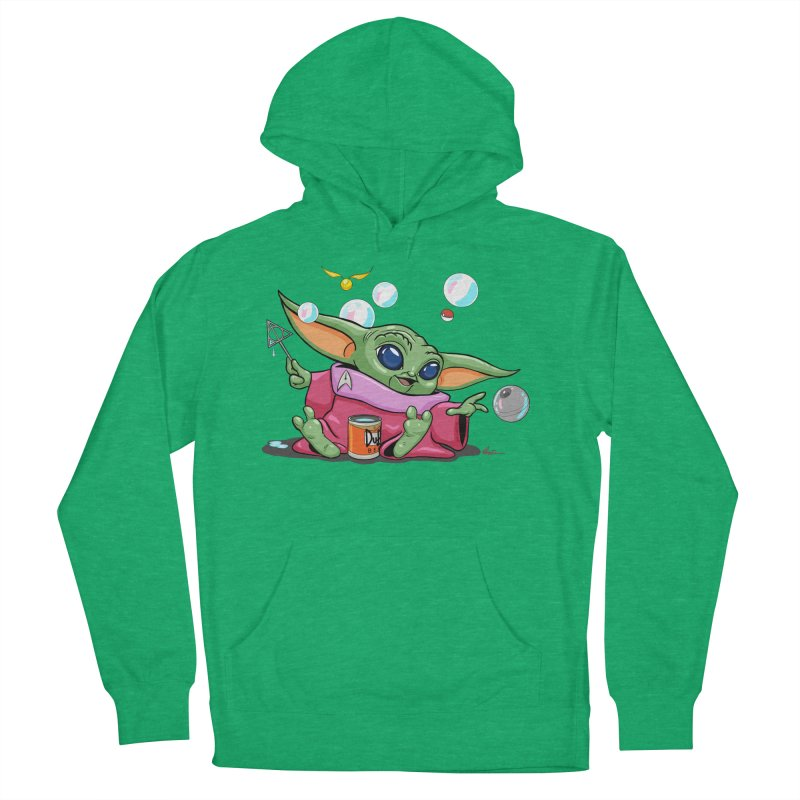 Orko Baby Yoda and Duff Deathly Hallow Bubbles Women's French Terry Pullover Hoody by Kindalikesorta - Art Prints, Custom T-Shirts + Mor