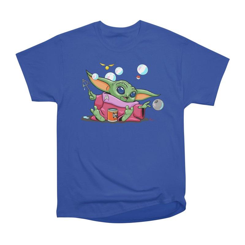 Orko Baby Yoda and Duff Deathly Hallow Bubbles Men's Heavyweight T-Shirt by Kindalikesorta - Art Prints, Custom T-Shirts + Mor