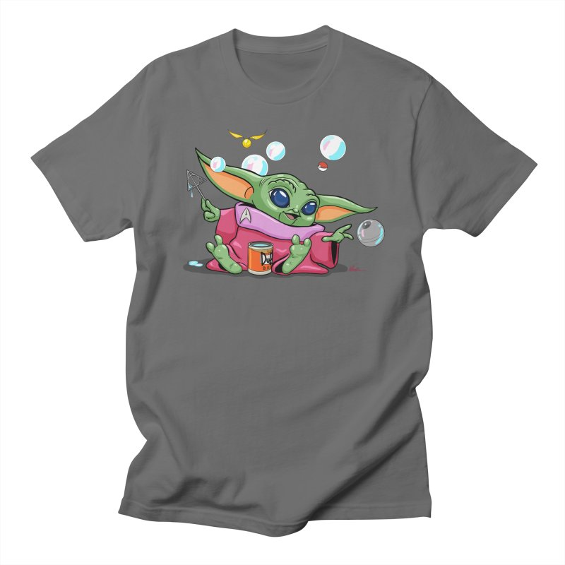 Orko Baby Yoda and Duff Deathly Hallow Bubbles Men's T-Shirt by Kindalikesorta - Art Prints, Custom T-Shirts + Mor