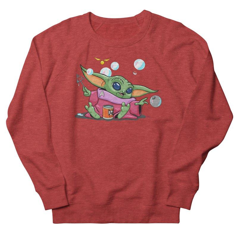 Orko Baby Yoda and Duff Deathly Hallow Bubbles Women's French Terry Sweatshirt by Kindalikesorta - Art Prints, Custom T-Shirts + Mor