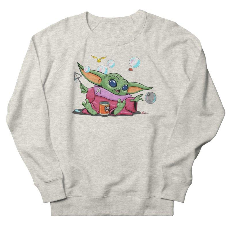 Orko Baby Yoda and Duff Deathly Hallow Bubbles Men's French Terry Sweatshirt by Kindalikesorta - Art Prints, Custom T-Shirts + Mor