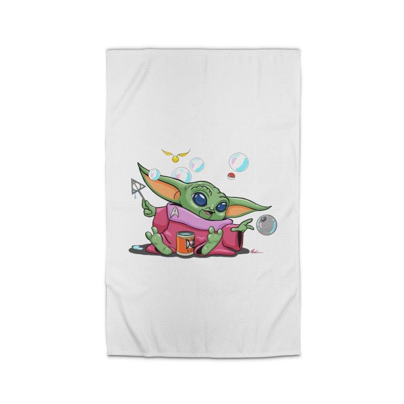 Orko Baby Yoda and Duff Deathly Hallow Bubbles Home Rug by Kindalikesorta - Art Prints, Custom T-Shirts + Mor