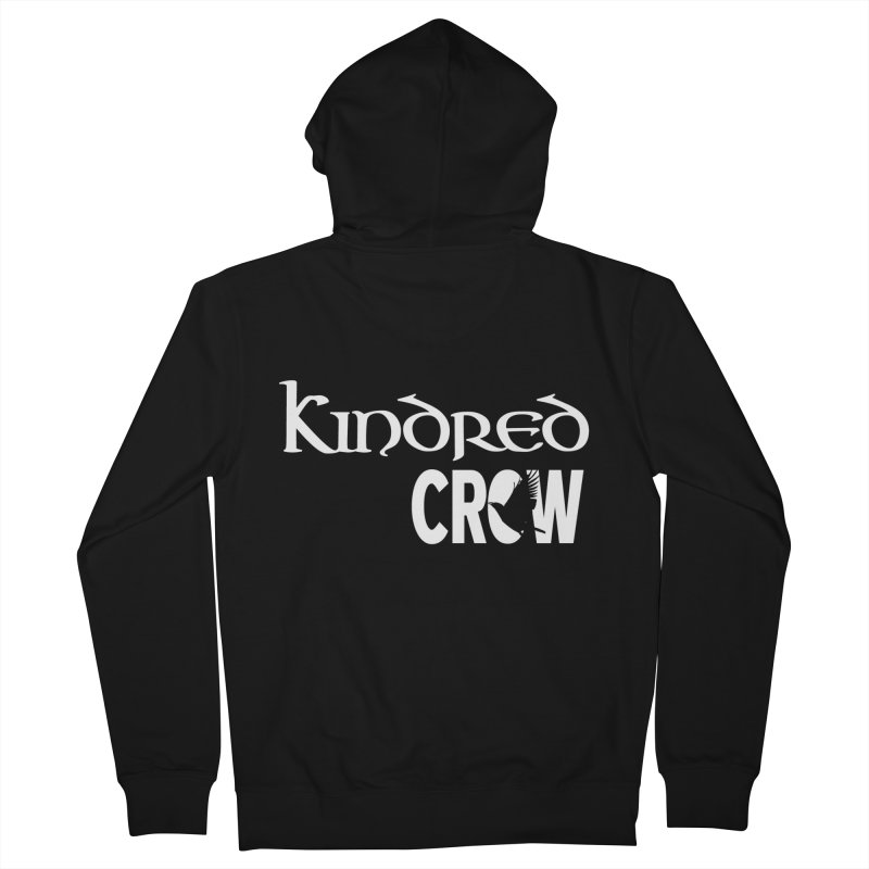 Kindred Crow Men's Zip-Up Hoody by kindredcrow's Artist Shop